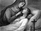 María acompaña al Cielo a sus devotos