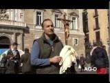 ACTO DE DESAGRAVIO POR BLASFEMIA PÚBLICA La lengua del infierno habló en Barcelona