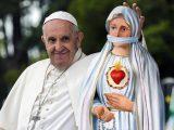 A Francisco no le gusta lo que la Virgen dijo en Fátima