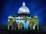 Vaticano, el Banco Mundial se une para lanzar el año de la Misericordia con espectáculao de luces sobre el 'cambio climático' en San Pedro