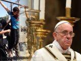 Francisco: Si yo hablo de violencia islámica, debo hablar de violencia católica