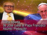 Carta abierta del Dr. Galat al Papa Francisco