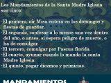 MANDAMIENTOS DE LA SANTA MADRE IGLESIA. CATECISMO DEL V. PADRE GERONIMO RIPALDA